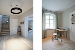 Ferienhaus - Großzügiger Eingangsbereich und Schreibtisch