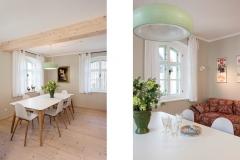 Ferienhaus - Wohn- und Essbereich