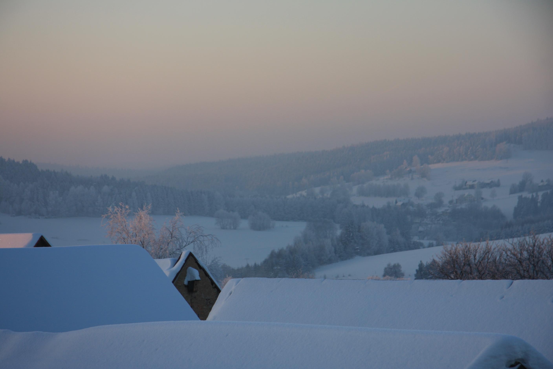Winter überm Egertal